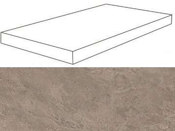 Grey Scalino Angolare DX 33x60 (600x330)