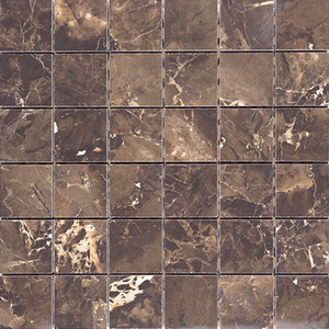 Copper Slab black Mosaic (300x300)